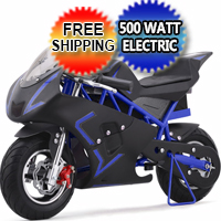 36 volt 500watt Electric Pocket Bike