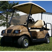 48V Custom Club Car Precedent Electric Golf Cart w/ Phantom Body