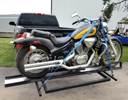 Trailer Hitch Motorcycle Carrier >> 800lb Motorcycle Carrier Lift For Rv Lift For Motorcycle Scooters Bikes