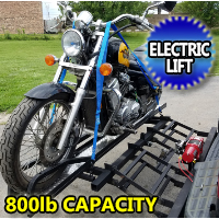 800LB Motorcycle Carrier Lift For RV Lift For Motorcycle Scooters Bikes