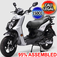 CAVALIER 150 LX 4 Stroke Air Cooled Fully Automatic Moped Scooter
