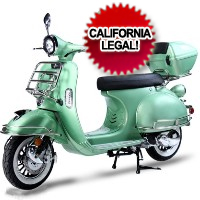 Brand New 2016 Luxurious 150cc Chelsea 50's Vintage Style Moped Scooter