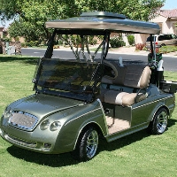 Minty Club Car Precedent Sports Car Electric Golf Cart
