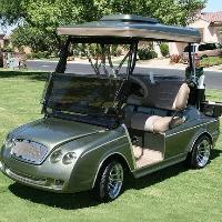 Minty Club Car Precedent Sports Car Electric Golf Cart