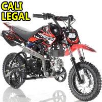 70cc Dirt Bike Fully Automatic Pit Bike with Training Wheels - DB-25 70cc