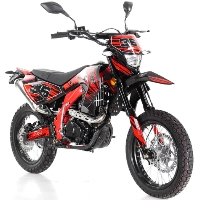 250cc Apollo DELUXE (DOT) 4 Stroke Manual Dirt Bike - DB-36