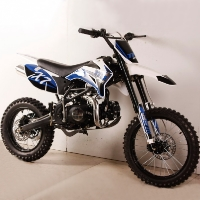 125cc Super Ravenger Motocross Dirt Bike 4-Speed Manual Clutch
