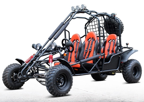 4 seater 169cc off road gas go kart df200gke. Black Bedroom Furniture Sets. Home Design Ideas