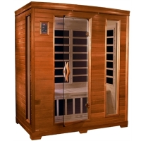 3 Person Sauna Dynamic Far Infrared, Modena Edition - MP3 Hook Up