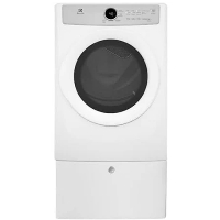 Electrolux EFDE317TIW 8.0 Cu. Ft. Front Load Electric Dryer - White - New w/Tiny Cosmetic Blemish