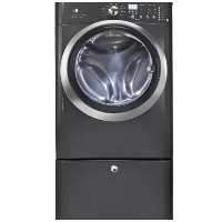 Electrolux EIFLS60LT Front Load Washer IQ-Touch 4.33 Cu. Ft. Titanium Stackable With Steam Cycle