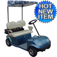 2 Seater Sunshade Electric Golf Cart