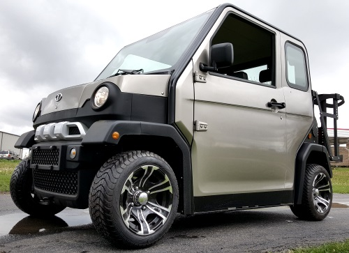 Low Speed Vehicles >> Four Passenger Electric Lsv Street Legal Low Speed Vehicle Golf Cart