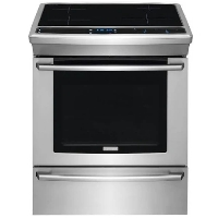 Electrolux Stove Stainless Steel Slide-In Induction Range - EW30IS80RS - New w/Tiny Cosmetic Blemish
