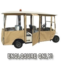 Brand New EZ-GO Shuttle 6 Sunbrella Golf Cart Enclosure