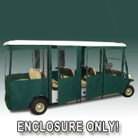 Brand New EZ-GO Shuttle 8 Sunbrella Golf Cart Enclosure