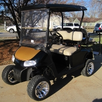 EZGO Gas Golf Cart RXV 13 hp Kawasaki with Custom Color
