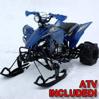 250cc E-Gor Atski Four Wheeler SnowMobile
