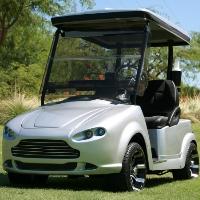 Ashton Club Car Precedent Sports Car Electric Golf Cart