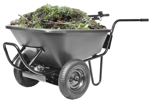 Light Duty Electric Powered Motorized Wheelbarrow 6cu