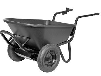 Heavy Duty Electric Powered Motorized Wheelbarrow 6cu Feet