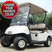 EZ-GO Custom Lightning Gas Golf Cart - Choose Your Color