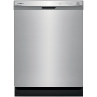 Frigidaire FFCD2418US 24 in. Built-In Front Control Tall Tub Dishwasher - Stainless Steel - New w/Tiny Cosmetic Blemish