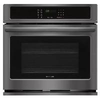 Frigidaire FFEW3026TD Stove Built-In Single Electric Wall Oven - Black stainless steel - New w/Tiny Cosmetic Blemish