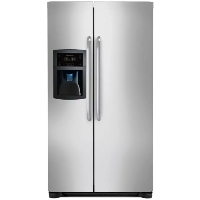 Frigidaire FFSC2323LS 22.2 Cu. Ft. Counter Depth Side by Side Refrigerator - Stainless Steel - New w/Tiny Cosmetic Blemish