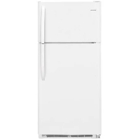 Frigidaire FFTR1814TW Refrigerator 18 Cu. Ft. Top Mount Fridge - White - New w/Tiny Cosmetic Blemish