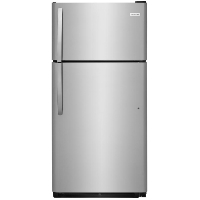 Frigidaire FFTR1821TS 18 cu. ft. Top Freezer Refrigerator - Stainless Steel - New w/Tiny Cosmetic Blemish