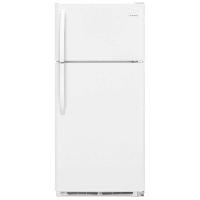 Frigidaire FFTR1821TW Refrigerator 18 Cu. Ft. Top Freezer Fridge - White - New w/Tiny Cosmetic Blemish