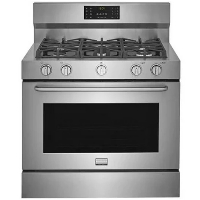 """Frigidaire FGDF4085TS Stove 40"""" Gas Range - Stainless Steel - New w/Tiny Cosmetic Blemish"""