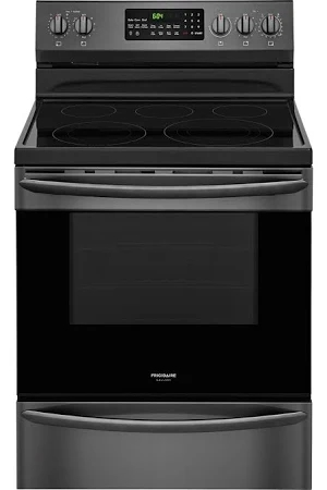 Frigidaire Gallery Fgef3059td Electric Stove Freestanding Range New W Tiny Cosmetic Blemish