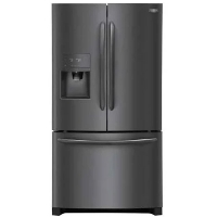 Frigidaire FGHB2868TD 27.2 cu. ft. French Door Refrigerator in Smudge-Proof - Black Stainless Steel - New w/Tiny Cosmetic Blemish