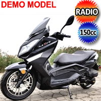 Flex ONE 150cc Scooter Air Cooled 4 Stroke With Radio, MP3/USB & Subwoofer - Demo Model