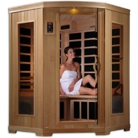 2-3 Person Sauna Carbon Dynamic Far Infrared with CD Player & MP3 Hook Up