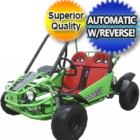 125cc Coolster Hulk Junior Fully Automatic Go Kart w/Reverse