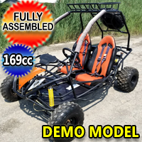 200 Go Kart 169cc Jaguar PGO Full Size Go Kart Demo Model