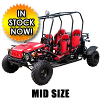 Brand New 150cc GTK4150 4 Seater Wrangler Go Kart