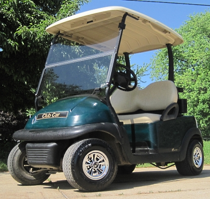 Club Car Precedent Electric 48v Golf Cart Green