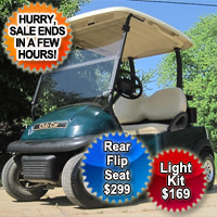 Club Car Precedent Electric 48v Golf Cart - Green