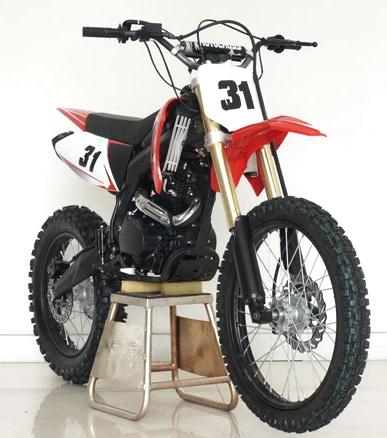 250cc Manual Gas Dirt Bike - HX250