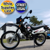 Hawk 4 - 250cc Enduro Dirt Bike 5 Speed Manual With Electric / Kick Start - Street Legal