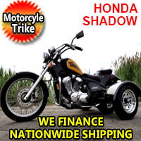 Motorcycle Trike Honda Shadow 600 VLX - Pre Owned - Great Condition