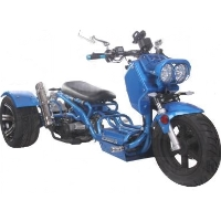 150cc Maddog Air Cooled Single Cylinder 4-Stroke Trike Moped Scooter