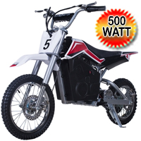 500w Dirt Bike 36v Electric Dirt Bike - InvaderE500