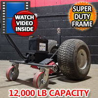 High Quality Super Duty Powered Motorized Trailer Dolly - 12,000lb Capacity