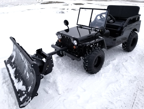 mini truck with snow plow utility mini jeep utv off road vehicle