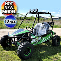 125cc GKM Go Kart - Extreme Edition Fully Automatic With Reverse